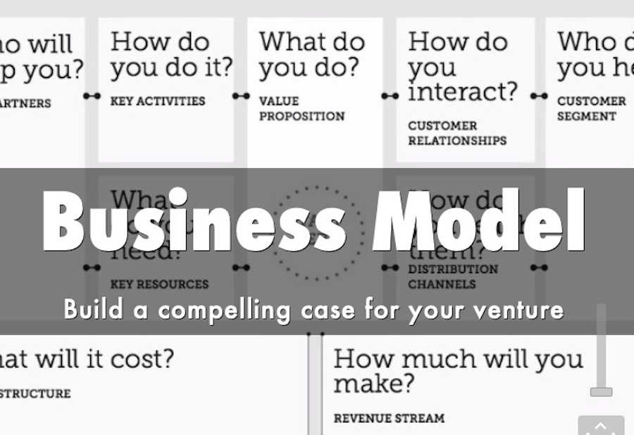 build your business model