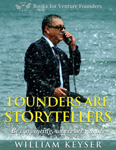 E-book cover: Founders Are Storytellers