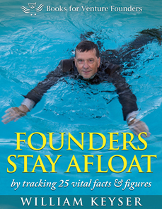 E-book cover: Founders Stay Afloat