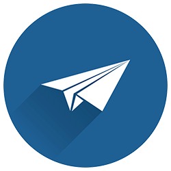 Icon: Newsletter: Paper airplane in flight