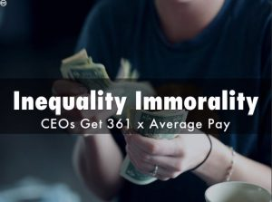inequality immorality